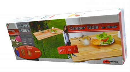 Camping table 100x60 cm