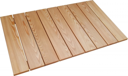Larix Decidua footboard 100 mm slats 96x57 base 120x70