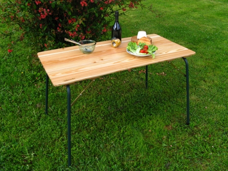 Camping table 120x60 cm